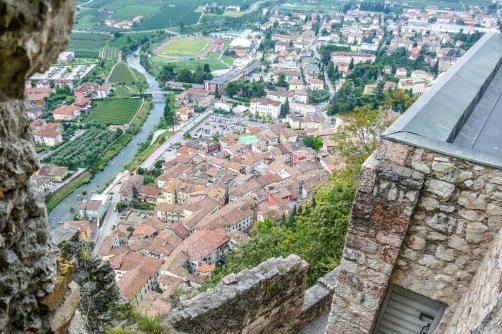 1 Old Arco below castle