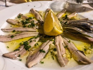 10 Real fresh anchovies