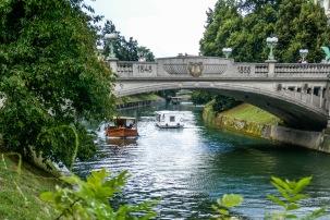 11 River in Ljlubljana