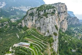 5 terraces below the castle