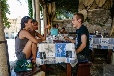 7 Interviewing a restauranteur